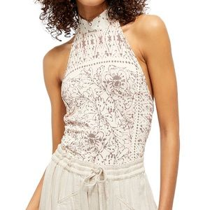NWT after People Halter top